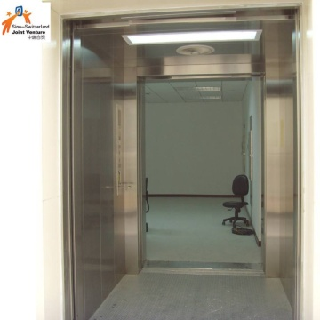 Open Through Door Freight Elevator