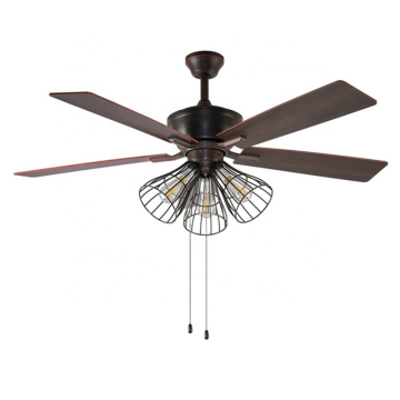 Hot Selling 2020 New Arrival Cell Phone Control Smart Ceiling Blade Fan for Guest Room