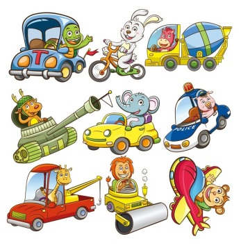 Animals Cars Embroidery Patches Badges children Cloth