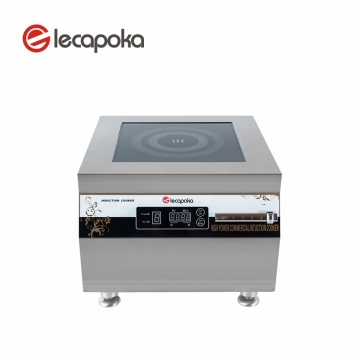 Stainless 380v Commercial Induction Cooker 12kw Shunde