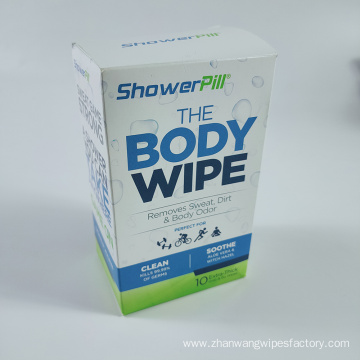 Eco-Friendly Organic Cotton Disinfecting Wet Body Wipes