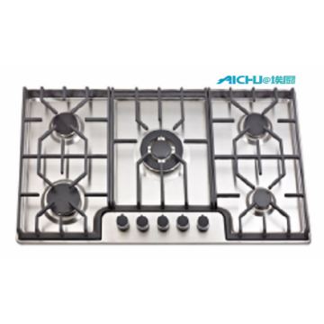 Sunflame 5 Burners 201 Level S.S Brushed Hob