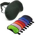 Portable Stretch Mesh Sleeping Eyeshade Airline Eyemask