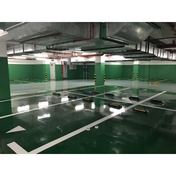 Green parking lot self-leveling epoxy floor