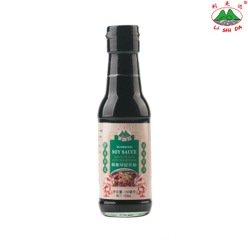 150ml Glass Bottle Mushroom Dark Soy Sauce