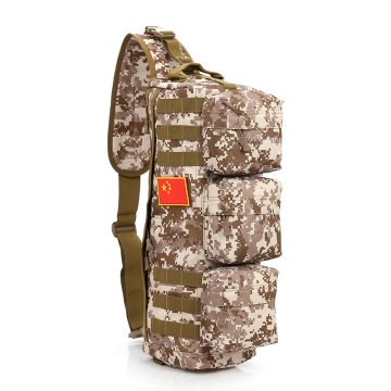 Ergonomic design  waterproof camouflage military backpack