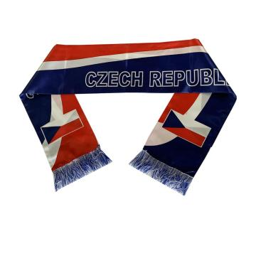 world cup sports satin football scarfs for men