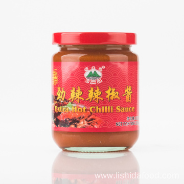 230g Glass Jar Extra Hot Chilli Sauce