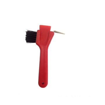 various style horse hoof pick with brush