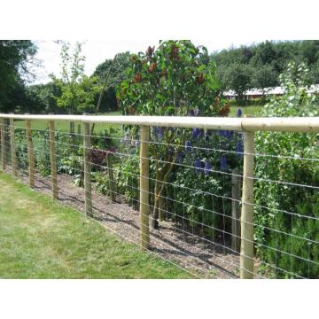 guard filed fence Excellent visibility fixed knot farm