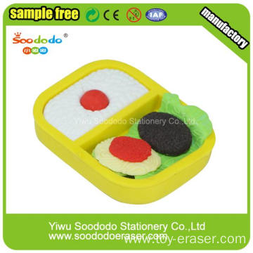 3D Food TPR eraser Seller