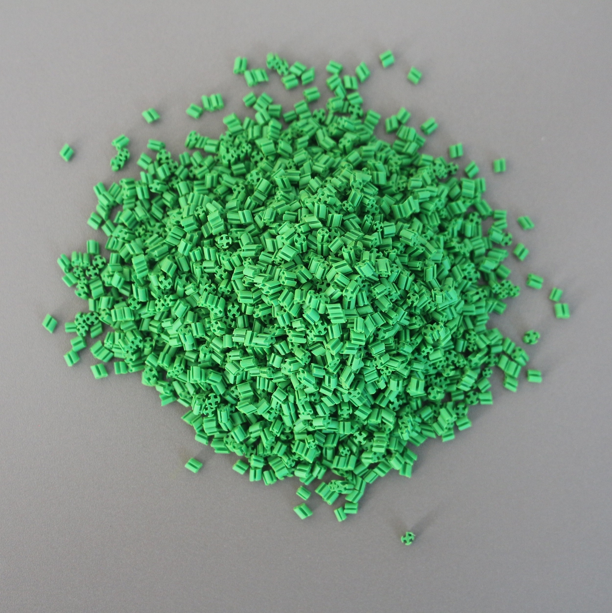 Lawn filled particles