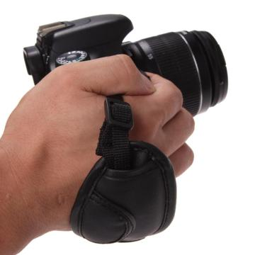 Adjustable Newest Hand Grip Camera Strap PU Leather Hand Wrist Strap For Dslr Camera for Sony Olympus Nikon Canon EOS D800