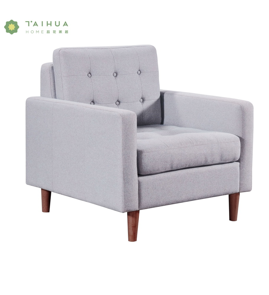 Single Seat Sofa Grey