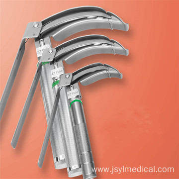 Fiber Optic Laryngoscope With Hook