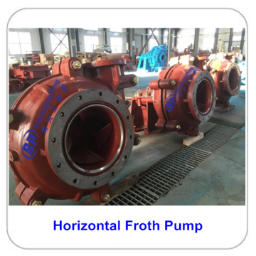 High  quality  of Horizontal Froth Pump