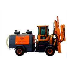 High efficiency Guardrail piling machine