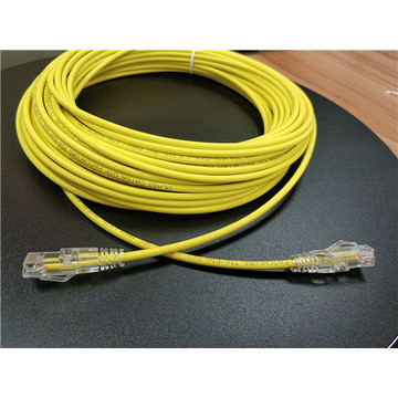 LSZH CAT6 Ultra Thin Ethernet Network Cable