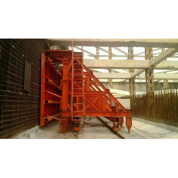 Construction of Single Side Wall Formwork Support