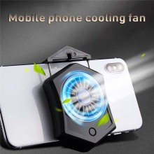 Mini cooling pad smartphone cooling fan for smartphone gamepad mobile with cooler portable rechargeable battery air cooling fan