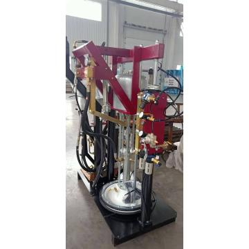 Glass sealing extruder