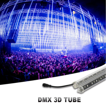 DMX Led Vertical 3D Tube Disco Light
