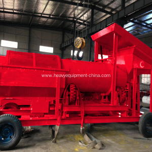 Alluvial Gold Ore Processing Mobile Trommel Washing Plant
