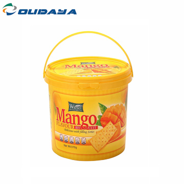 2500ml butter container with iml printing