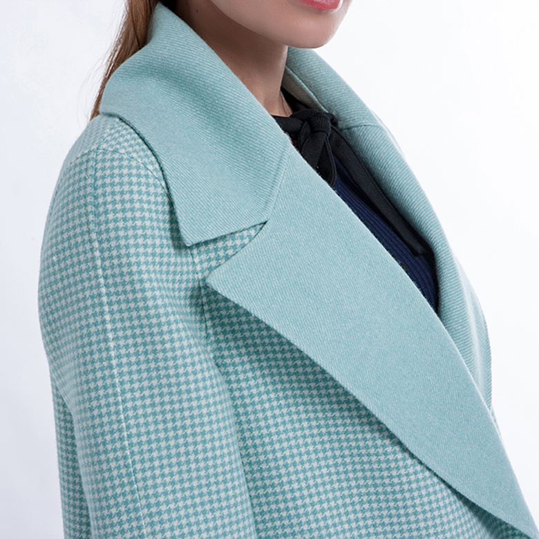 Classic Woman Cashmere Blended Overcoat