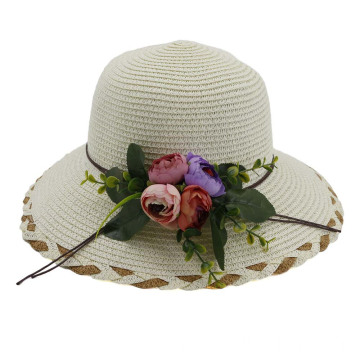Instagram styles park picture bucket straw hat