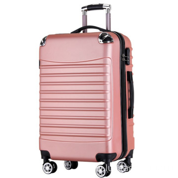 Brand luggage factory abs hard plastic suitcase
