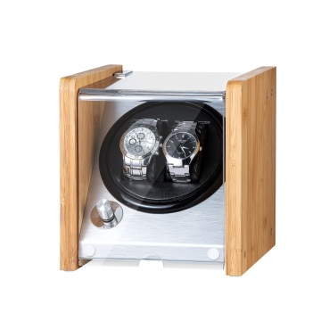 Bamboo Single Rotor Watch Winder Box