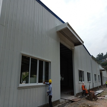 Prefab House Construction Steel metal building near me