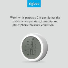 Tuya Zigbee 3.0 Smart Home Security Alarm Device Temperature Sensor WIFI Wireless Humidity Sensor With LED Screen Display