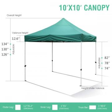 3mx3m strong wind and waterproof gazebo canopy
