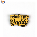 Small Gift Metal Custom Daddy Enamel Pin