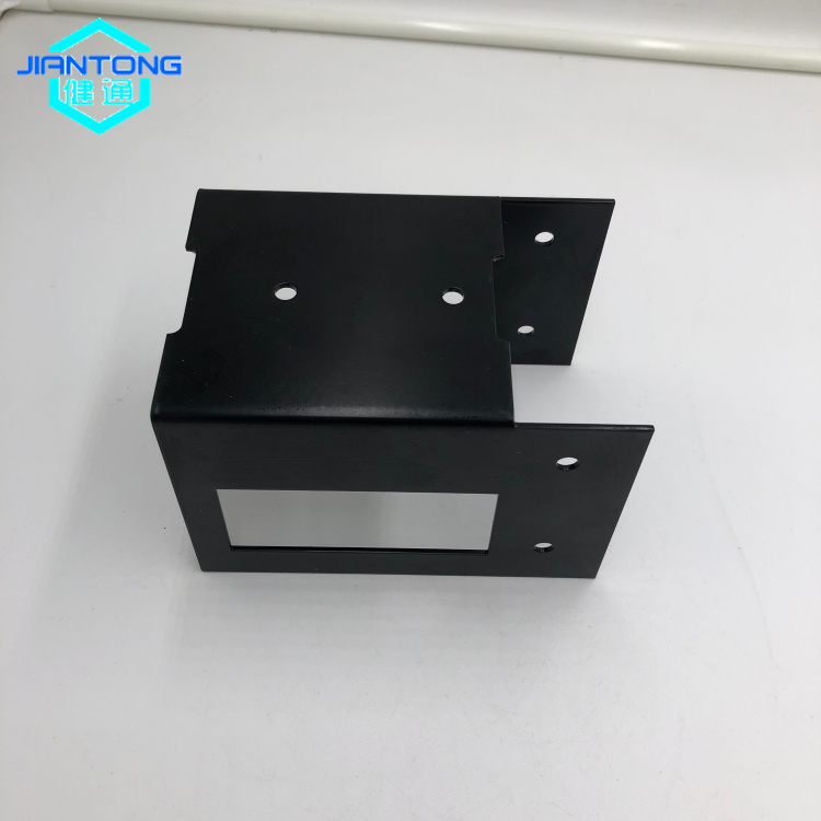 Custom Black Powder Coating Sheet Metal Stamping Parts