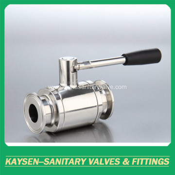 Hygienic 2-way Ball Valve Ferrule ISO/IDF/SMS/3A/DS