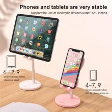 Rabbit Mobile Phone Desktop Stand Adjustable Lifting Telescopic Portable Rabbit Mobile Phone Holder Tablet Computer Bracket