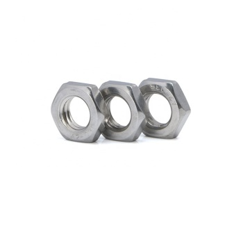 Metric Hex Thin Nuts