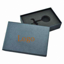 Lid And Base Car Key Box With Foam