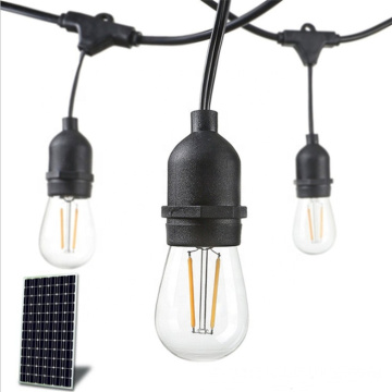High Efficiency Solar Powered String Lighting
