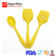 Non-stick silicone cookware turner spatula soup spoon