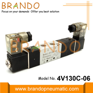 4V130C-06 5 Way 2 Position Pneumatic Solenoid Valve