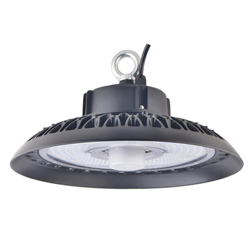 200W Motion Ihe mmetụta UFO High Bay Lighting
