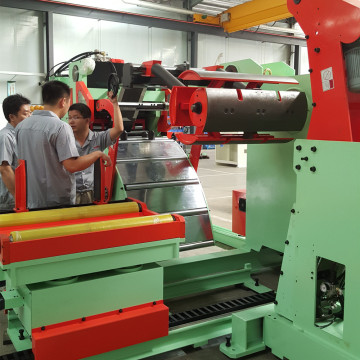 Decoiler Straightener na Servo Feeder Line