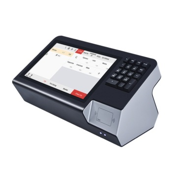 Retail Pos terminal with NFC and keyboard