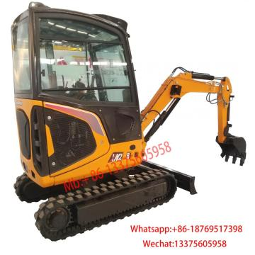2.8 ton crawler excavator mini with cab for sale
