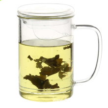 reusable Clear Tea Glass Cup With Filter
