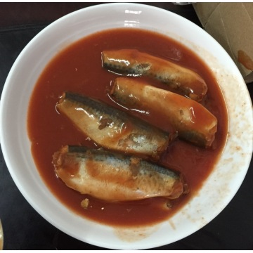 Mackerel Fish In Tomato Chili Lithography Can